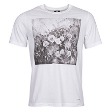 Paul Smith BLACK WHITE FLORAL TEE
