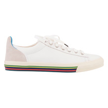 Paul Smith HOOPER WHITE MONO SNEAKER