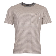 Paul Smith MENS GREY STRIPE TEE