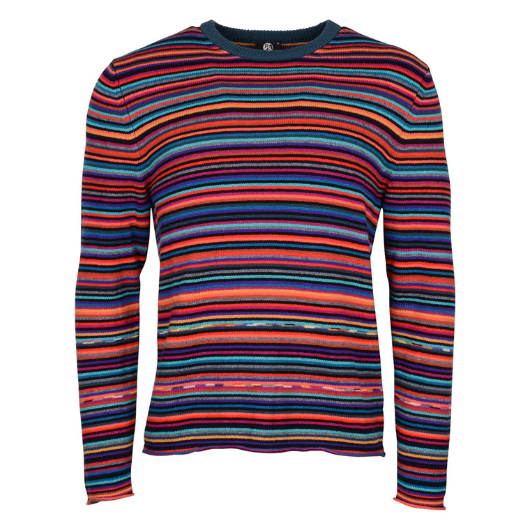 Paul Smith MENS MULTI STRIPE KNIT