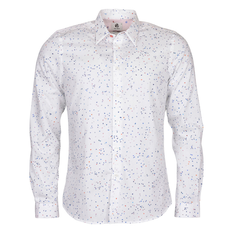 Paul Smith MENS PUSSEL PRINT SHIRT