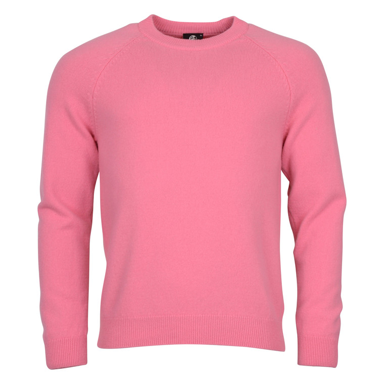 Paul Smith MERINO CREW NECK KNIT-PINK