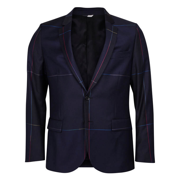 Paul Smith MULTI COL CHECK BLAZER