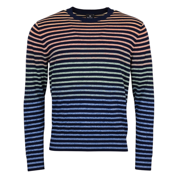 Paul Smith MULTI STRIPE KNIT