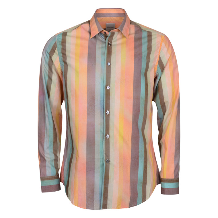 Paul Smith MENS MULTISTRIPED SHIRT