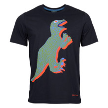 Paul Smith NAVY BIG DINO PRINT TEE