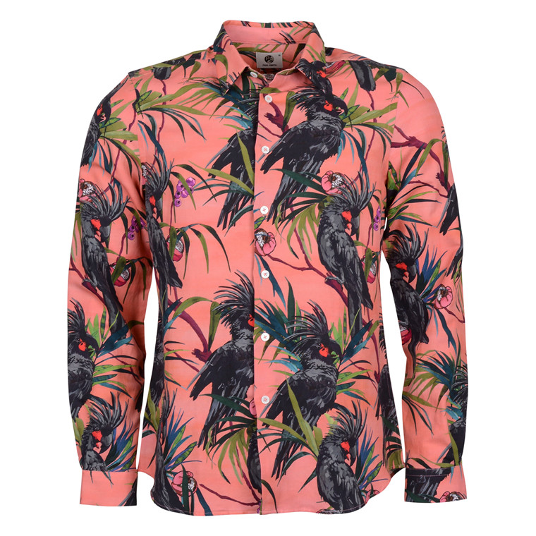 Paul Smith SHIRT TAILORED DRAGON BIRD