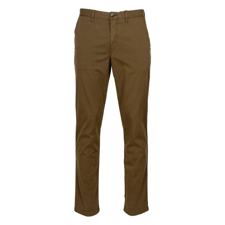 Paul Smith TAPERED FIT OLIVE CHINO