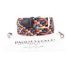 Paulo Vitale MULTI COLOUR STRTCH BELT