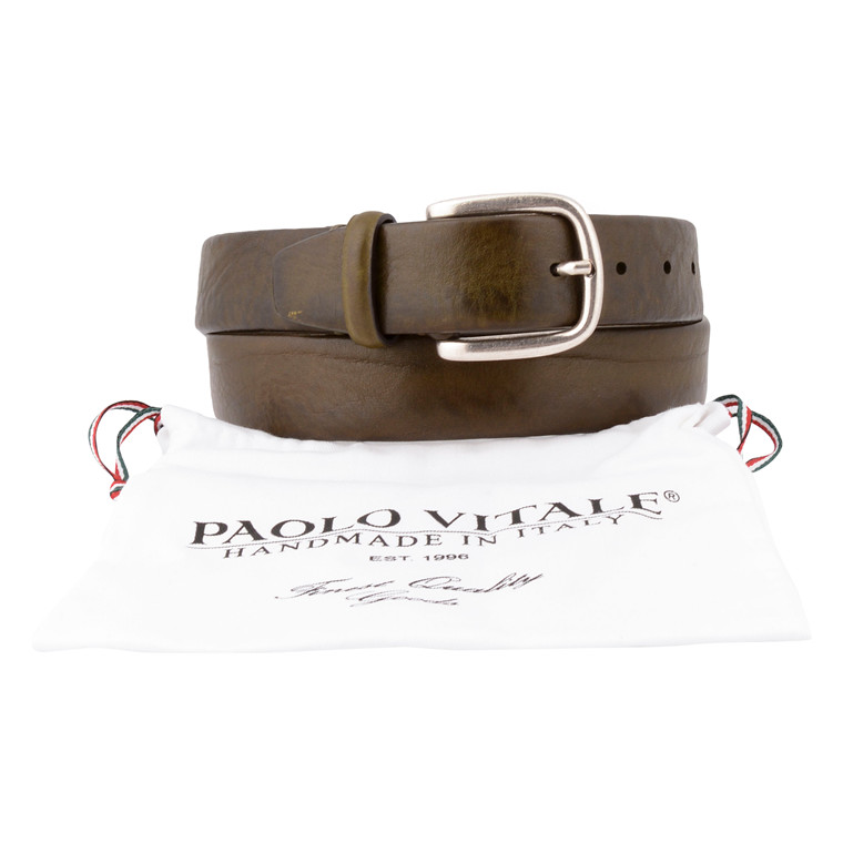 Paulo Vitale OLIVE ONEPIECE BELT