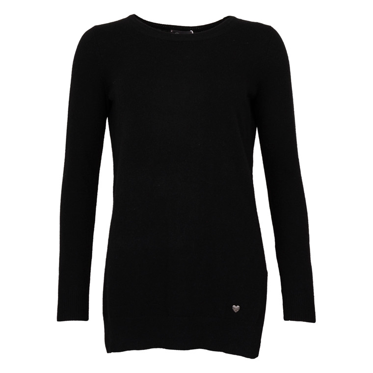 PRINCESS U-NECK KNIT CASHMERE