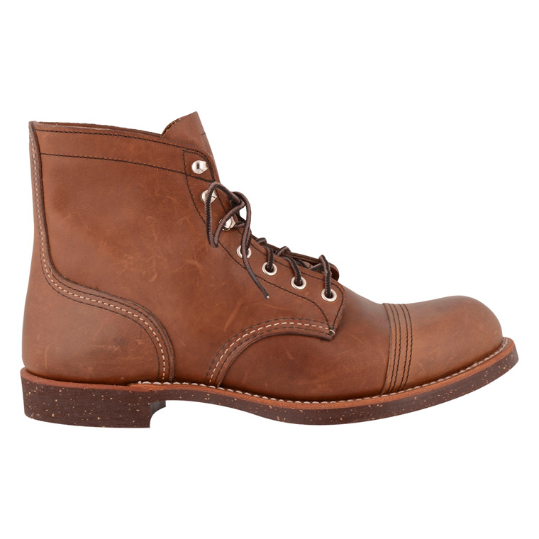 RED WING SHOES IRON RANGER 8111-BROWN