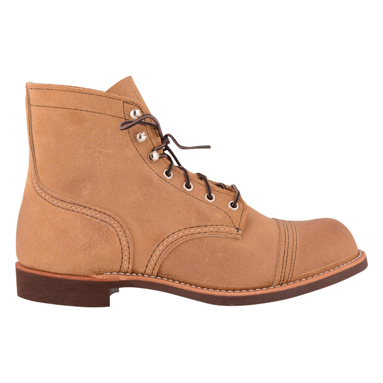 RED WING SHOES IRON RANGER-HAWTHORNE SUEDE