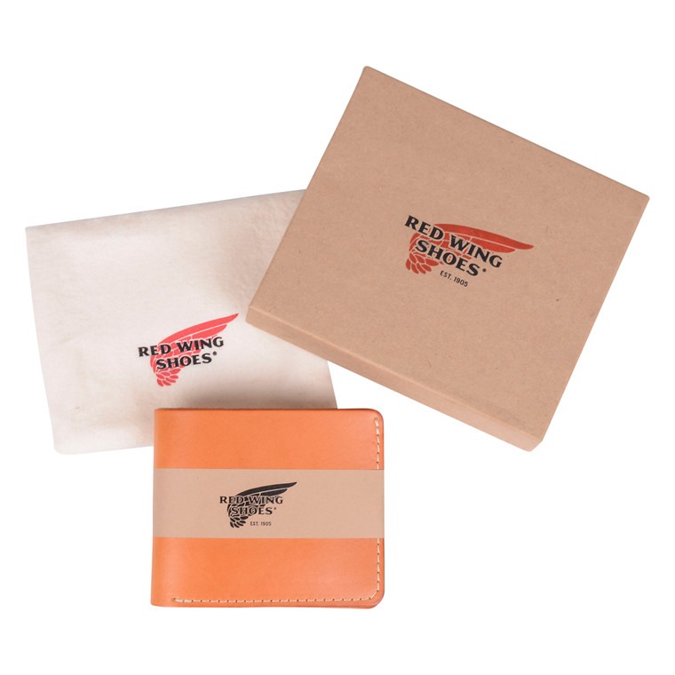 RED WING SHOES TAN BI-FOLD DUAL CARD