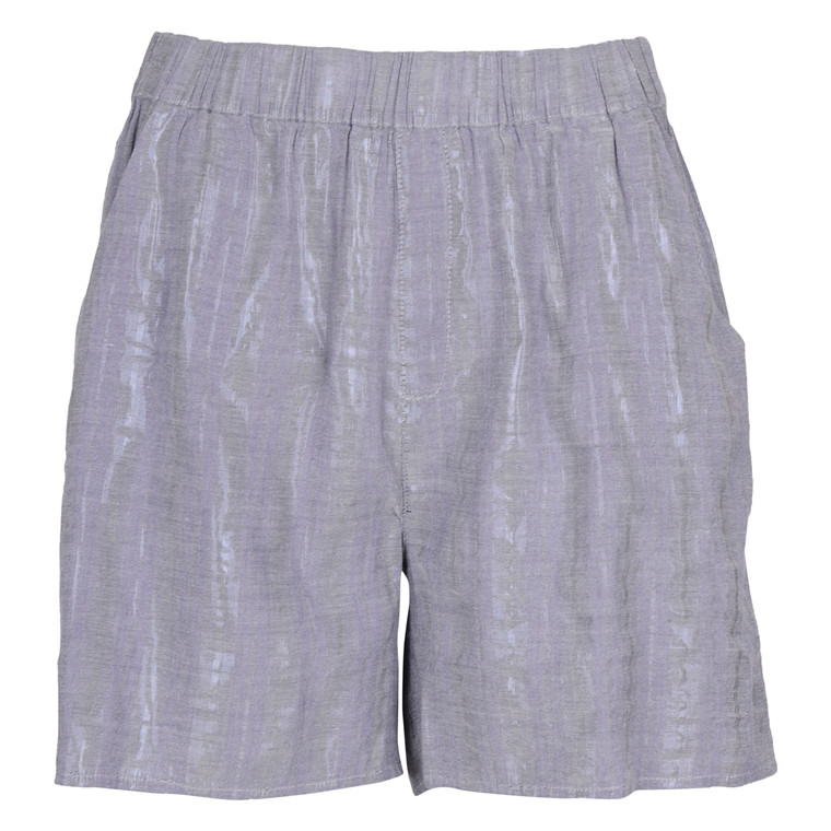 SAINT TROPEZ WIDE S. LUREX SHORTS DEEPBLUE
