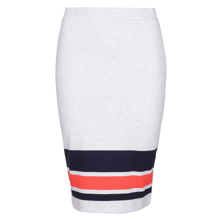 SAINT TROPEZ BLOCK STRIPED SKIRT 5168