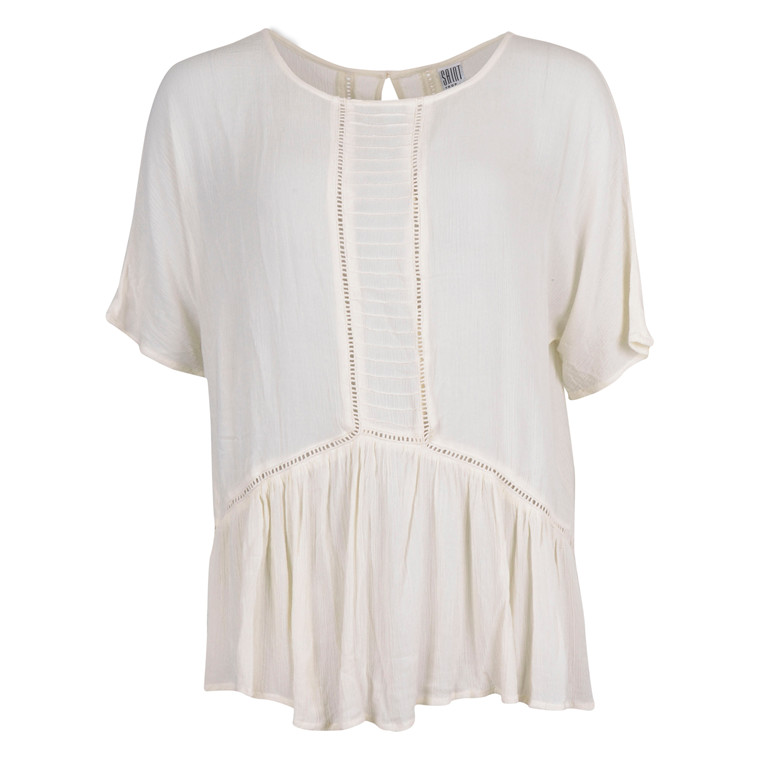 SAINT TROPEZ BLOUSE W. LADDER S.