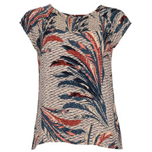 SAINT TROPEZ FEATHER P. TOP