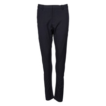 SAINT TROPEZ PANTS WITH RIB BLACK