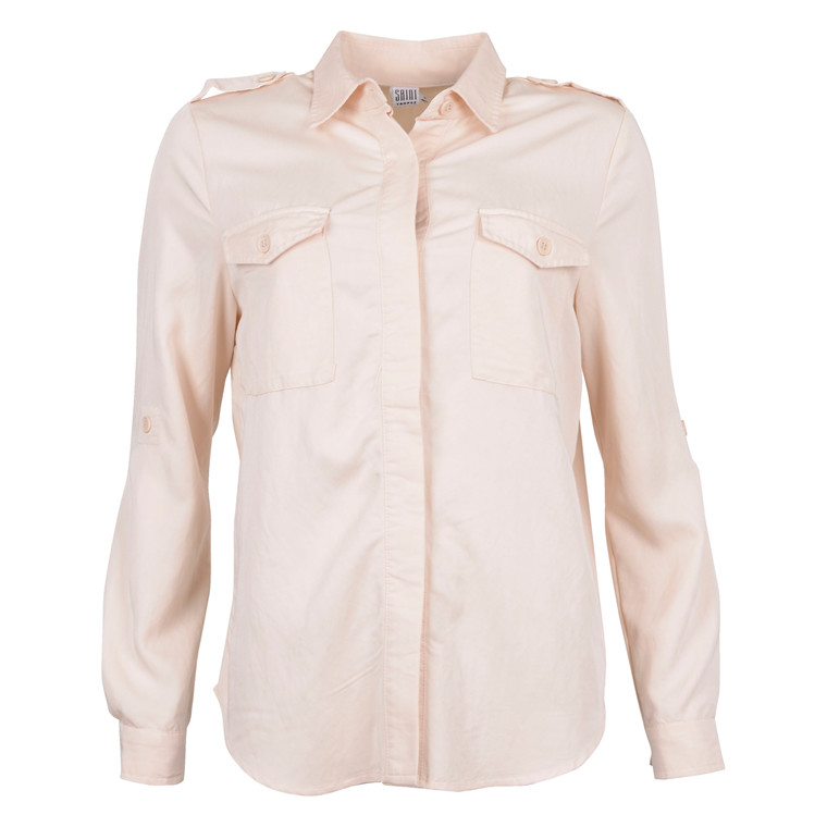 SAINT TROPEZ SHIRT W. EMBROIDERY 1058