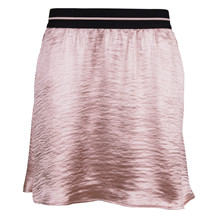 SAINT TROPEZ SKIRT GLITTER SATIN ROSE