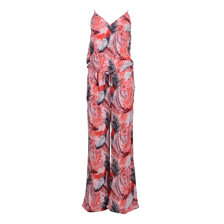 SAINT TROPEZ TROPICAL P. JUMPSUIT LANTANA
