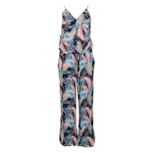 SAINT TROPEZ TROPICAL P. JUMPSUIT GRAPHIT