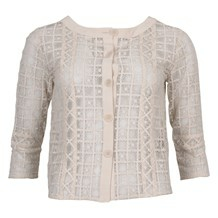 SAND BALA CUT SHORT CARDIGAN