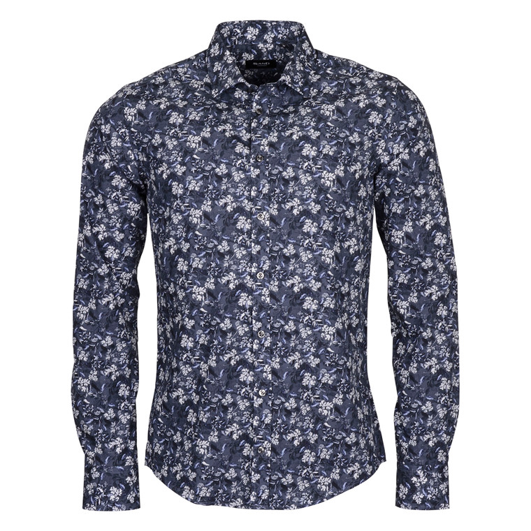 SAND IVER 570 SHIRT - NAVY