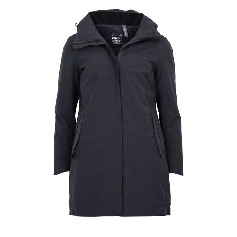 Scandinivian Edition WOMANS TOWN COAT GRAPHITE