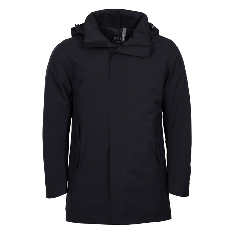 Scandinivian Edition MENS BLACK TRANSIT COAT