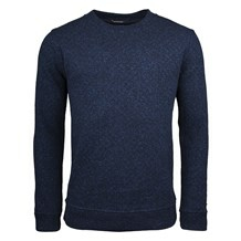 Scotch & Soda CREW NECK INTERLOCK KNIT