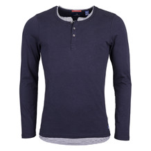 Scotch & Soda D. LAYER LS GRANDDAD TEE