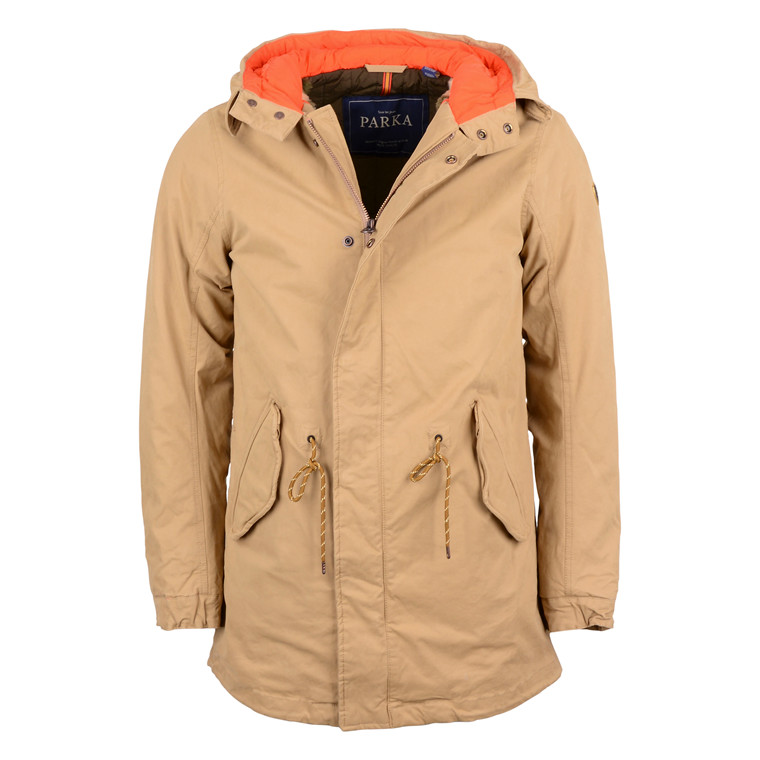 Scotch & Soda C. LONG PARKA W. TEDDY
