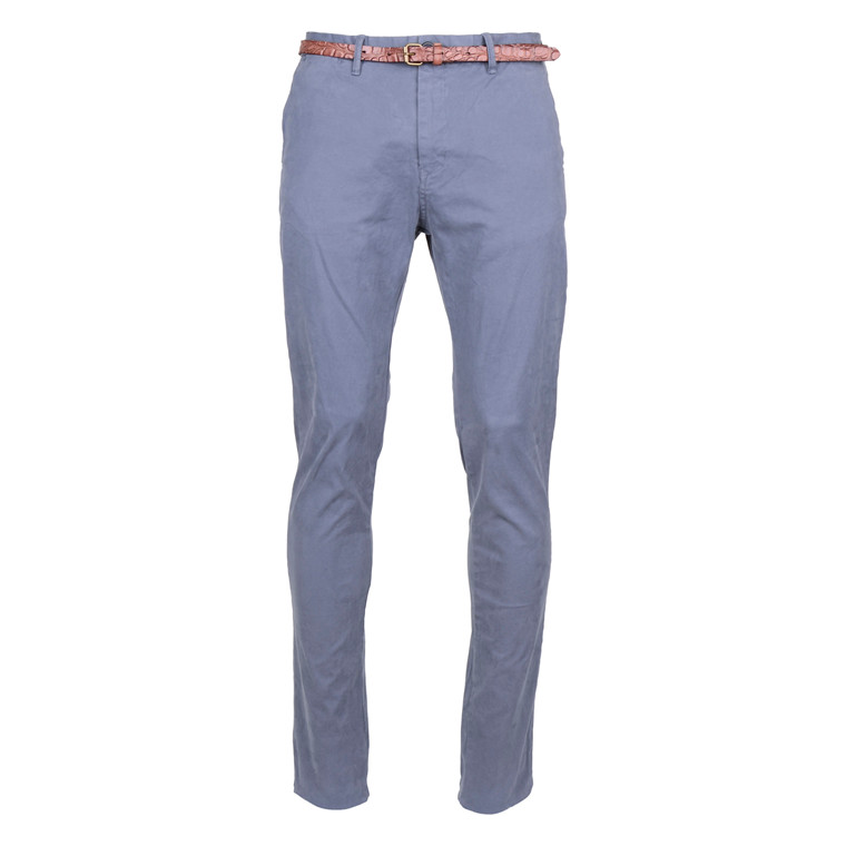 Scotch & Soda CHINO STRECH BLUE STEEL