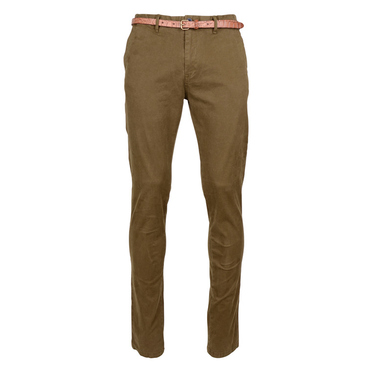 Scotch & Soda CHINO STRECH MILITARY