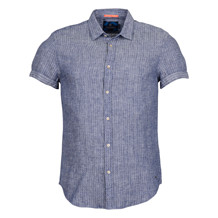 Scotch & Soda SHORTSLEEVE SHIRT IN S. LINEN