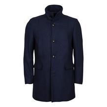 selected homme MOSTO NAVY HERRINGBONE