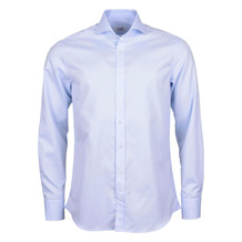 Stenströms FITTED BODY BLUE SHIRT