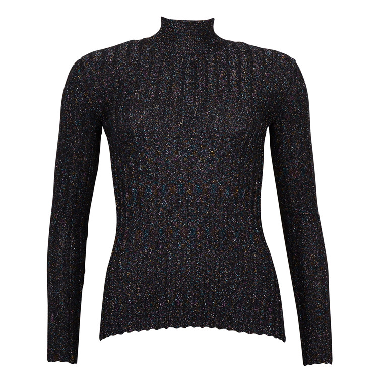 STINE GOYA ERIKA RIPPED SPARKLE KNIT