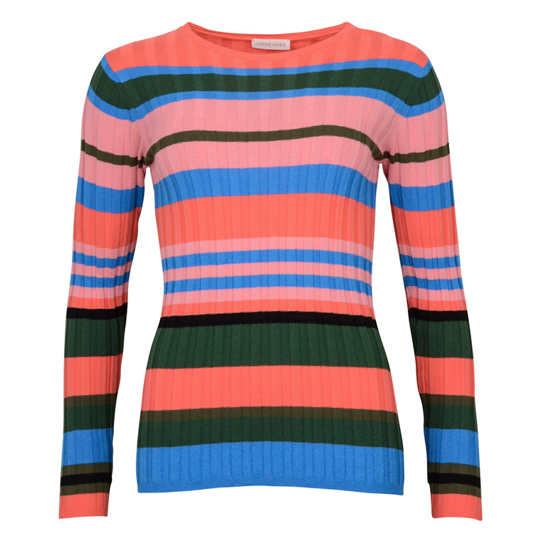 STINE GOYA LEONOR MULTI COLOUR KNIT