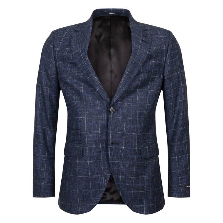 TIGER OF SWEDEN BARRO MIST BLUE BLAZER