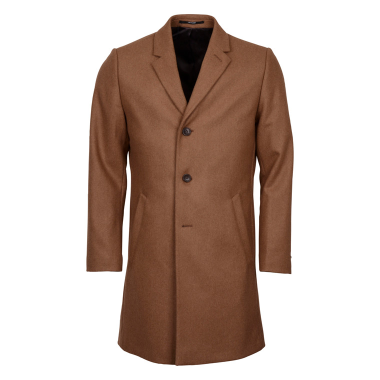 TIGER OF SWEDEN DEMPSEY CAMEL COAT