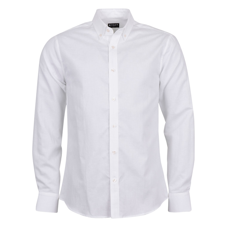TIGER OF SWEDEN DONALD SHIRT WHITE