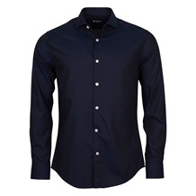 TIGER OF SWEDEN FARRELL NAVY SHIRT