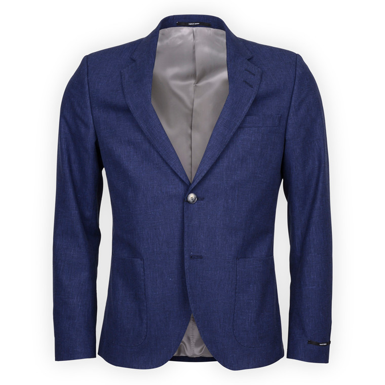 TIGER OF SWEDEN GEKKO 8 CHECK BLAZER