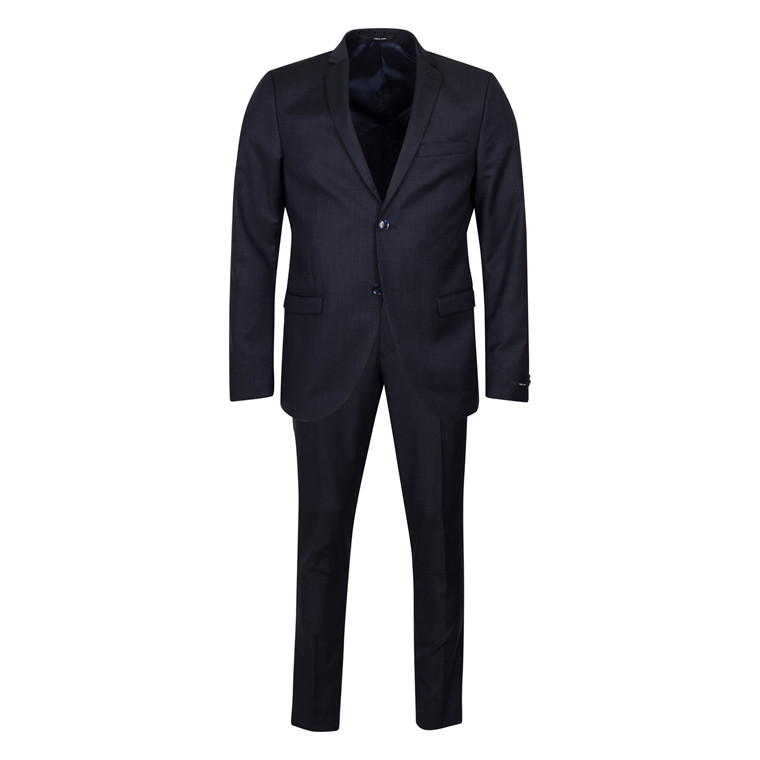 TIGER OF SWEDEN JIL 8 NAVY MIX WOOL SUIT