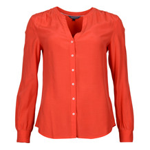 Tommy Hilfiger ALBERTA BLOUSE RED