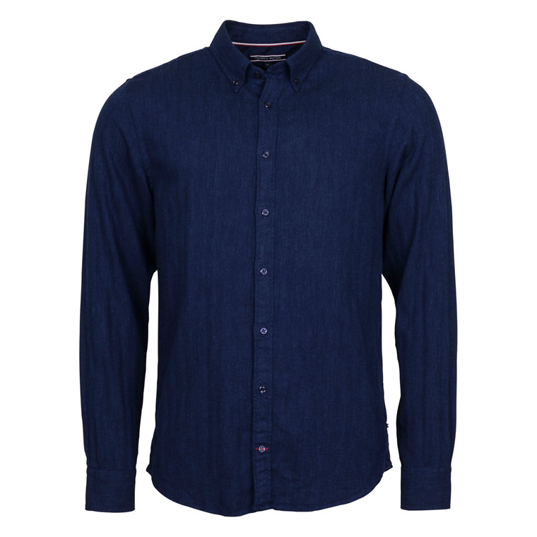 Tommy Hilfiger BRUSHED HERRINGBONE SHIRT
