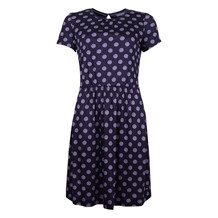 Tommy Hilfiger CAMMIE C-NK DRESS BLUE